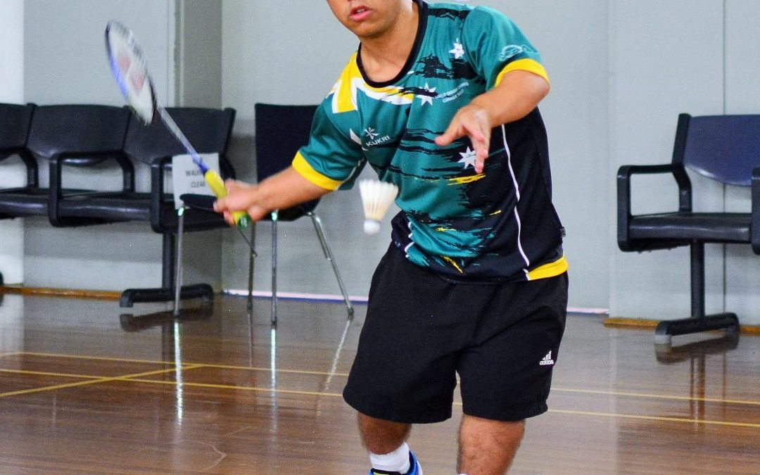 Luke zones in for the para-badminton international in Thailand