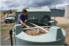 Omeo Trickle Filter Trial