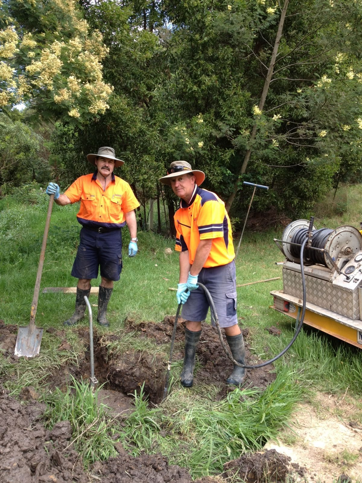 Terry M and Wayne S Sewer rodding (2)