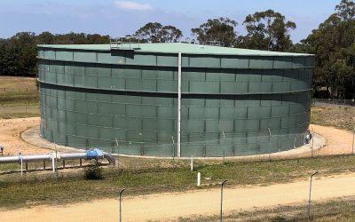 New water storage tank to help meet long term needs