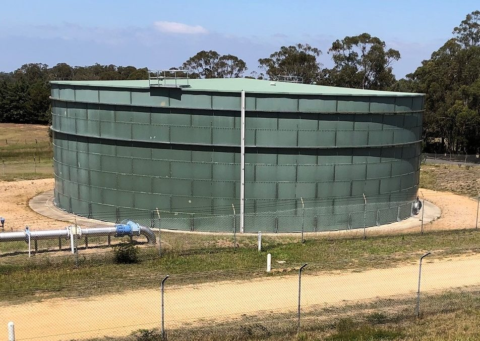 New water storage tank to help meet long term needs