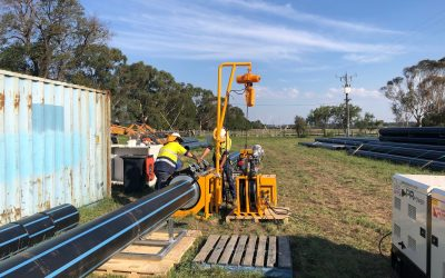 Bairnsdale to Eagle Point water main upgrade